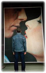 романтические фотообои