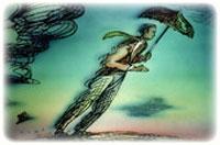 Мужчина и ветер